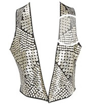 "Sequin waistcoat, £55, <a target=""_blank"" href=""http://www.oasis-stores.com/fcp/product/Oasis/All-Tops/Metal-sequin-waistcoat/4430001801"">Oasis</a> -Every girl loves a sequin. Throw this over any plain tee for instant rock star!<br /><br />"
