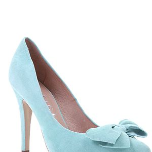 """<p>If you can't afford the Prada version, why not try this pretty bow court shoe instead? This pastel alternative in peppermint suede would look great with this season's many shades of pale denim jeans on offer.</p><p>Ophelia bow court shoe, £62, <a href=""""http://www.office.co.uk/womens/office/ophelia_bow_court/37/13191/37327/1?fs=13191"""" target=""""_blank"""">Office</a> </p>"""