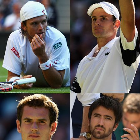 Woo hoo! It's week two of Wimbledon, so we have another seven days of salivating over this year's hottest tennis stars. With this collection of gorgeous men tennis is fast becoming our fav spectator sport...  <br />