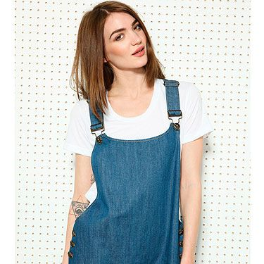 """<p>Three bloggers make a trend - and we've clocked this denim dungaree dress on <a title=""""What Olivia Did"""" href=""""http://www.whatoliviadid.com/"""" target=""""_blank"""">What Olivia Did</a>, <a title=""""Wish Wish Wish"""" href=""""http://wishwishwish.net/"""" target=""""_blank"""">Wish Wish Wish</a> AND <a title=""""I Want You To Know"""" href=""""http://www.iwantyoutoknow.co.uk/"""" target=""""_blank"""">Fashionknitsta</a>.</p><p>BDG Denim Dungaree Dress, £58, <a title=""""Urban Outfitters"""" href=""""http://www.urbanoutfitters.co.uk/bdg-denim-dungaree-dress/invt/5130425825555/&colour=Denim%20"""" target=""""_blank"""">Urban Outfitters</a></p>"""