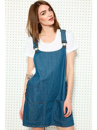 "<p>Three bloggers make a trend - and we've clocked this denim dungaree dress on <a title=""What Olivia Did"" href=""http://www.whatoliviadid.com/"" target=""_blank"">What Olivia Did</a>, <a title=""Wish Wish Wish"" href=""http://wishwishwish.net/"" target=""_blank"">Wish Wish Wish</a> AND <a title=""I Want You To Know"" href=""http://www.iwantyoutoknow.co.uk/"" target=""_blank"">Fashionknitsta</a>.</p> <p>BDG Denim Dungaree Dress, £58, <a title=""Urban Outfitters"" href=""http://www.urbanoutfitters.co.uk/bdg-denim-dungaree-dress/invt/5130425825555/&colour=Denim%20"" target=""_blank"">Urban Outfitters</a></p>"