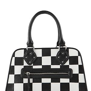 """<p>Ok, so it's not the celebs' fave Louis Vuitton pattern but it's close enough (and more purse-friendly). Team with a checked dress for the total monochrome look. Go on, we dare you.</p><p>Bag, £60, <a href=""""http://www.aldoshoes.com/uk/handbags/satchels-handheld-bags/product/90710806-galambos/79"""" target=""""_blank"""">Aldo</a></p>"""