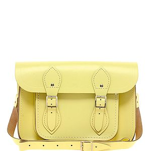 """<p>We're updating our trusted satchel for spring and adding this pretty-enough-to-eat pastel yellow one from the Cambridge Satchel Company to our ever-expanding collection. Channel Alexa and pair with a loose blouse, shorts and brogues.</p><p>Satchel, £105, <a href=""""http://www.asos.com/Cambridge-Satchel-Company/Cambridge-Satchel-Company-11-Leather-Lemon-Satchel/Prod/pgeproduct.aspx?iid=2689898&cid=6992&Rf900=1428&sh=0&pge=0&pgesize=200&sort=-1&clr=Lemon"""" target=""""_blank"""">Asos</a></p>"""