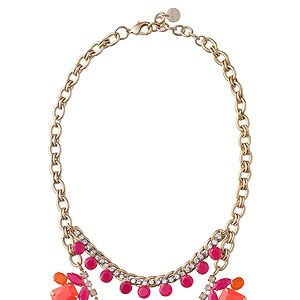 """<p>Oh orange-you nice! We are SO ready for spring and we can't think of a better to start off the new season than with this gorgeous stella & dot necklace and its coral, orange and pink stones.</p><p>Necklace, £120, <a href=""""http://shop.stelladot.co.uk/style/b2c_en_gb/featured-shops/2013-trend-report-1/spring-awakening-necklace.html"""" target=""""_blank"""">Stella & dot</a></p>"""