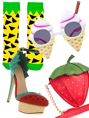 Eyewear, Vision care, Goggles, Colorfulness, Art, Pattern, Fruit, Strawberries, Strawberry, Beige,