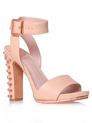 """<p>The chunky heels on these Kurt Geiger sandals mean they're the right side of comfy to wear all day in the office and then out partying. The studs are just a bonus.</p> <p>Sandals, £115, <a href=""""http://www.kurtgeiger.com/women/altman-pink-snake-print-40-vince-camuto-shoe.html"""" target=""""_blank"""">Kurt Geiger</a></p>"""