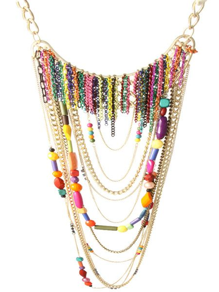 "<p>Add a statement necklace to any outfit to draw eyes to the bust and balance out curvier hips</p><p> </p><p>£28, <a href=""http://www.asos.com/countryid/1/Asos/Asos-Statement-Multi-Row-Coloured-Metal-Chains-And-Bead-Necklace/Prod/pgeproduct.aspx?iid=1074232&MID=35718&affid=2134&siteID=0RpXOIXA500-XQEHHGWKEcBaxf7RaRIXkQ"" target=""_blank"">www.asos.com</a></p>"