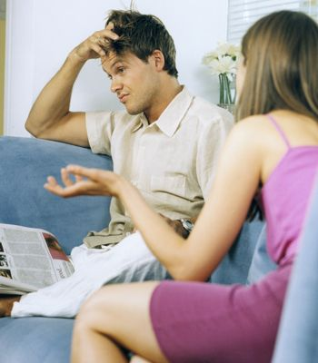 When you're arguing every five minutes or feeling like you're stuck in a rut, it's easy to blame your problems on circumstances. But while dealing with each other's flatmates or living out of bags and trekking between flats can be stressful, sharing the same space can be just as much pressure. If you're relationship isn't strong enough to deal with living apart, the chances are it isn't strong enough to cope with living together.  <br />