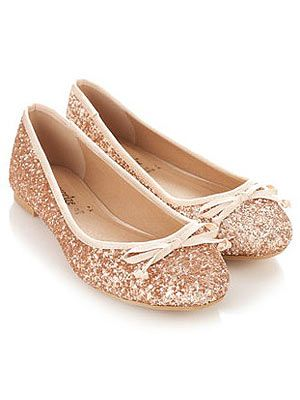 """<p>Because you're never too old to have shoes covered in glitter.</p> <p>Ballerinas, £25, <a href=""""http://uk.accessorize.com/view/product/uk_catalog/acc_3,acc_3.1/3954025337"""" target=""""_blank"""">Accessorize</a></p>"""