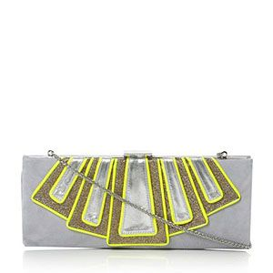 "<p>Take the biggest trends from the 20s and this season and what do you get? An Art Deco clutch with neon detail. Disco Deco, if you will. Taken from the lust-worthy <a title=""Joanne Stoker for Dune"" href=""http://www.cosmopolitan.co.uk/fashion/news/Shoe-news-Dune-designer-collection-collaborates-with-Joanne-Stoker-for-SS13"" target=""_self"">Joanne Stoker collab with Dune</a>, these are pieces made for partying in.</p>