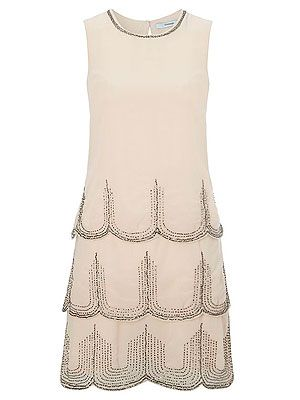 "<p>This Flapper-style dress is spot on and an absolute style steal! We like the modern take on a classic style, without looking overly fancy dress - and a sexy way of doing Twenties 'tennis whites', no?</p> <p>Charleston dress, £25, George at <a title=""George at ASDA"" href=""http://direct.asda.com/george/womens/dresses/charleston-dress/GEM275877,default,pd.html"" target=""_blank"">ASDA</a></p>"