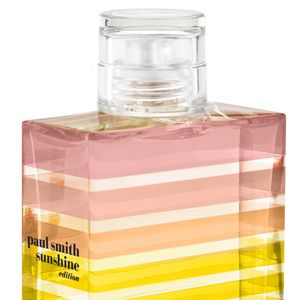 """<p>Blue skies above, new high-tops on, picnic hamper packed - the only thing you're missing is this. A cocktail of pink grapefruit and mouth-watering peach, this uplifting, zesty scent really is like sunshine in a bottle. Keep it on your desk when you need a mid-afternoon mood boost!</p><p>£31,<a href=""""http://www.paulsmith.co.uk/uk-en/shop/new-online/womens-sunshine-edition-eau-de-toilette-100ml.html%20"""" target=""""_blank""""> paulsmith.co.uk</a></p>"""