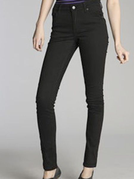 "I love these super-skinny jeans.  They go with everything and the high-waist cut makes them ultra flattering and comfy too.  <br /><br />£45, Cheap Monday at <a target=""_blank"" href=""http://www.urbanoutfitters.co.uk/Cheap-Monday-Very-Stretch-Black-Jean/invt/5122422233922"">Urban Outfitters</a><br />"