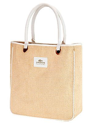 "<p>Buy Lacoste Eau de Lacoste Pour Femme Eau de Parfum 50ml or above and you'll receive this pretty weaved tote bag. This perfume is floral, delicate lasts all day.<br /> <br />Lacoste Eau de Lacoste Pour Femme Eau de Parfum, £45, <a href=""http://www.boots.com/en/Lacoste-Eau-de-Lacoste-Pour-Femme-Eau-de-Parfum-50ml_1296008/"" target=""_blank"">Boots</a></p>"
