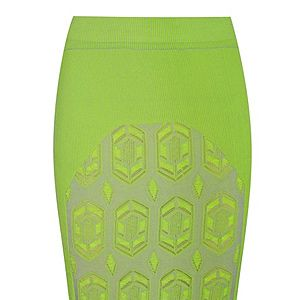 """<p>Dagmar's neon stretch-knit pencil skirt is a little pricey but oh so gorgeous. The neon hue, knee-length and geometric pattern make it bang on trebd. If you're going to invest in one key piece this season, this is it. </p><p>Dagmar skirt, £260, <a href=""""http://www.net-a-porter.com/product/343151"""" target=""""_blank"""">Net-A-Porter</a></p>"""