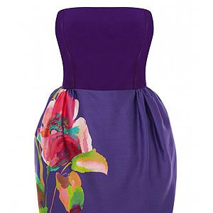 """<p>If like us you have a gazillion weddings to go to this summer, you'll be in the market for a new dress or two. Stand out in the crowd with this pretty floral purple dress from Coast – we love the tulip skirt in particular. Team with metallic heels. </p><p>Coast dress, £150, <a href=""""http://fashiontargetsbreastcancer.org.uk/shop/dresses/coast-bee-dress"""" target=""""_blank"""">Fashion Targets Breast Cancer</a></p>"""