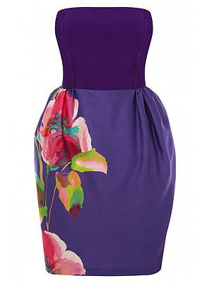 "<p>If like us you have a gazillion weddings to go to this summer, you'll be in the market for a new dress or two. Stand out in the crowd with this pretty floral purple dress from Coast – we love the tulip skirt in particular. Team with metallic heels. </p> <p>Coast dress, £150, <a href=""http://fashiontargetsbreastcancer.org.uk/shop/dresses/coast-bee-dress"" target=""_blank"">Fashion Targets Breast Cancer</a></p>"