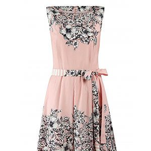 """<p>Add a touch of 50s style to your spring wardrobe with this delicate silk mix printed pink tea dress from Laura Ashley. Perfect for all those summer garden parties darling!</p><p>Laura Ashley dress, £95, <a href=""""http://fashiontargetsbreastcancer.org.uk/shop/dresses/laura-ashley-silk-mix-fit-flare-dress"""" target=""""_blank"""">Fashion Targets Breast Cancer</a></p>"""