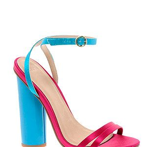 """<p>Add a pop of colour to your outfit with these pretty colour block sandals from ASOS. Extra points for the chunky heels which will save us from any embarrassing tumbles. A pastel pedi is a must. </p><p>Sandals, £45, <a href=""""http://www.asos.com/ASOS/ASOS-HIGHGATE-Heeled-Sandals/Prod/pgeproduct.aspx?iid=2644167&cid=6992&sh=0&pge=0&pgesize=200&sort=-1&clr=Multi"""" target=""""_blank"""">Asos</a></p>"""