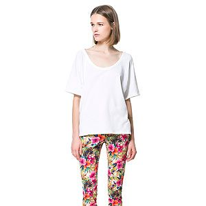 """<p>Show off those pretty ankles in a pair of statement crop trousers like these colourful tropical print ones from Zara. As they're quote bold you might want to wear them with a  simple white tee.</p><p>Trousers, £29.99, <a href=""""http://www.zara.com/webapp/wcs/stores/servlet/product/uk/en/zara-neu-S2013/363008/1258519/PRINTED+CROPPED+TROUSERS"""" target=""""_blank"""">Zara</a></p><p> </p>"""