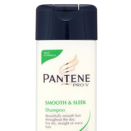 """Pantene Pro-V Smooth & Sleek locks in moisture and targets damaged areas on the hair strands to make hair smooth and give an amazing shine. The 75 ml version of the famous shampoo costs a bargain price of £1.75 and will ensure any kinks or frizz are kept at bay. Potential hair-flicking and flirting opportunities guaranteed!<br /><br /> Pantene Pro-V Smooth & Sleek Shampoo (75 ml) £1.29 <a target=""""_blank"""" href=""""http://www.boots.com/webapp/wcs/stores/servlet/ProductDisplay?storeId=10052&productId=14789&callingViewName=&langId=-1&catalogId=11051"""">www.boots.com  </a><br />"""