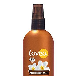 """<p>If you're chemical-cautious, reach for this organic self-tan spray which is as good for your skin as it looks on it. The 100% natural formula is lovingly crafted with sweet-smelling Tahitian Monoi oil to prevent dryness and keep your glow going for longer.<br /> <br />Lovea Organic Self-tanning Spray, around £11.49, <a href=""""http://www.feelunique.com/p/Lovea-Organic-Self-Tanning-Spray-125ml"""" target=""""_blank"""">feelunique.com</a>, <a href=""""http://www.mypure.co.uk/lovea-organic-sunscreen-b105"""" target=""""_blank"""">mypure.co.uk</a> and Wholefoods stores</p>"""