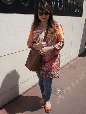 <p>The gorgeous Grace Fung was in Cannes for work (some people have <em>all</em> the luck!). The Senior Press Officer for Coty UK was fresh from hanging out with Rooney Mara, Nicole Kidman and Cara Delevingne the night before at the IFP (Independent Filmmaker Project) Calvin Klein party. We loved her Zara printed top and Matthew Williamson sunglasses.</p>