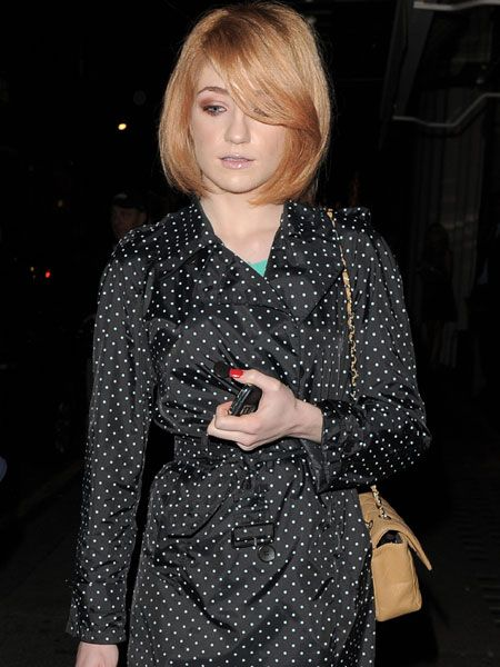 "Nicola Roberts is still riding high in the fashion stakes, wearing the £900 Comme Des Garcons polka-dot trench that was seen on <a target=""_blank"" href=""tags/victoria-beckham/"">Posh Spice</a> a few months ago as Nicola returned to the Mayfair hotel after a night out...  <br />"