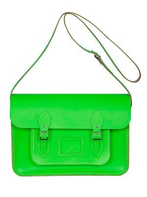 "<p>Be practical and stylish with this fluoro satchel from The Cambridge Satchel Company. Plus you can get it embossed with your initials for free too! Cool, or what?</p> <p>Satchel, £115, <a href=""https://www.cambridgesatchel.com/buy/the-fluoro/"" target=""_blank"">The Cambridge Satchel Company</a></p>"