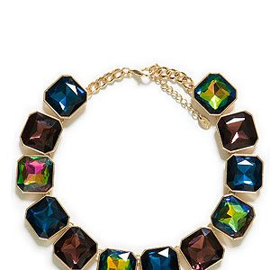 """<p>Like a moth to a flame we were drawn to this gem of a statement necklace by Zara. Wear it to jazz up a simple white tee or go bold with a print dress.</p><p>Necklace, £19.99, <a href=""""http://www.zara.com/webapp/wcs/stores/servlet/product/uk/en/zara-neu-S2013/363008/1295480/%20http://www.zara.com/webapp/wcs/stores/servlet/product/uk/en/zara-neu-S2013/363008/1295480/"""" target=""""_blank"""">Zara</a></p>"""