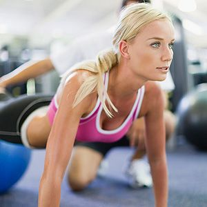 "<p>Celebrity personal trainer Paul Vallis says a combination of resistance and cardiovascular exercises are key.<br /><br />""Try some four minute tabata training to really disrupt the body's normal routine. Do 20 seconds as hard as you can, ten seconds off, then repeat eight times which takes you up to four minutes. You can do this training with running, cycling or burpees, mix it up and keep your body guessing.""<br /><br />Don't think that doing 1000 crunches every day will give you a flat stomach. Instead Paul says try ""lots of planks, including side planks and full body exercises like squat presses and squat rows. You need to work the whole of your body for results - you cannot spot reduce!""</p>"