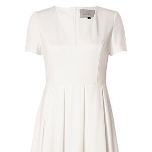 <p>Take fashpiration from the Wimbledon girls with this little white dress this summer. Match it with white sandals and some neon nail art and you've got yourself a winning look.</p>
