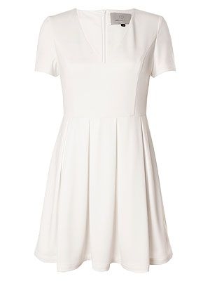 "<p>Take fashpiration from the Wimbledon girls with this little white dress this summer. Match it with white sandals and some neon nail art and you've got yourself a winning look.</p> <p>Dress, £46, <a href=""http://www.lavishalice.com/clothing-c1/dresses-c2/white-pleated-capped-sleeve-summer-dress-p849"" target=""_blank"">Lavish Alice</a></p>"