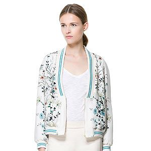 <p>A statement jacket is a great way to liven up a neutral outfit and wrap up against the evening chill. Conclusion? We NEED this Zara jacket pronto.</p>