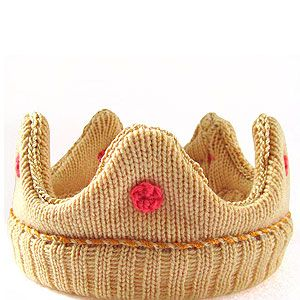 """<p>This adorable crown is hand knitted by The Miniature Knit Shop, and comes in various colors and sizes. Made using 100% lamb's wool, it's super soft so baby will look and feel like royalty (which is handy).</p><p>Knitted Baby Crown, £45, <a href=""""http://www.notonthehighstreet.com/theminiatureknitshop/product/the-mini-crown"""" target=""""_blank"""">Notonthehighstreet.com</a></p>"""
