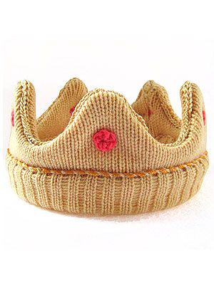 """<p>This adorable crown is hand knitted by The Miniature Knit Shop, and comes in various colors and sizes. Made using 100% lamb's wool, it's super soft so baby will look and feel like royalty (which is handy).</p> <p>Knitted Baby Crown, £45, <a href=""""http://www.notonthehighstreet.com/theminiatureknitshop/product/the-mini-crown"""" target=""""_blank"""">Notonthehighstreet.com</a></p>"""