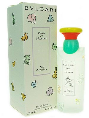 """<p>If that 'new baby' smell is getting a little old, or if mums want a calming fragrance, check out Bvlgari's Petits et Mamans. The eau de toilette spray has chamomile and talc notes, plus it's alcohol-free and allergy-tested.</p> <p>Bvlgari Baby Eau de Toilette 100ml, price varies, <a href=""""http://www.amazon.co.uk/Bvlgari-Petits-Mamans-Toilette-Spray/dp/B001CT09TU"""" target=""""_blank"""">Amazon</a></p>"""