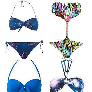 <p>Digital prints is a favourite with designers like Alexander McQueen and Peter Pilotto, and if it's good enough for the catwalk, it's good enough for our holidays we say. Make sure all eyes are on you with galaxy, underwater or painted dot designs.</p>