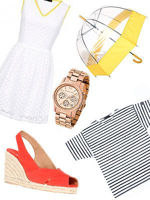 <p>Want to ace the Wimbledon look, like Pippa and Kate Middleton? The Wimbledon crowd oozes sophisticated and minimalist chic. Think timless classics such as Breton tops and wedges and bright whites as well as discreets pops of colour. We serve up the 10 key pieces to guarantee spectator style points at Centre Court. Game, Set, Match!</p>