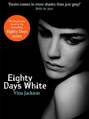 "<p>Innocent Lily always felt there was something missing from her life. When she moves to London, her seductive friend Liana introduces her to a new world of passion, in which she collides with Dagur, a gorgeous drummer, and Grayson, an enigmatic photographer. A rollercoaster of emotions from start to finish.</p> <p>Eighty Days White, £3.85, <a href=""http://www.amazon.co.uk/Eighty-Days-White-Vina-Jackson/dp/1409129098/ref=sr_1_1?s=books&ie=UTF8&qid=1371824123&sr=1-1&keywords=eighty+days+of+white"" target=""_blank"">Amazon</a></p>"