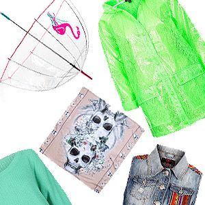 <p>Heading to Glastonbury this weekend? Pack for the muddy fields and wrap up in style with Cosmo's edit of the best festival cover-ups.</p><p>You'd be forgiven for thinking layering up sounds boring, but a host of neon macs, print scarves and studded biker jackets might just get you wishing for some rain...</p>
