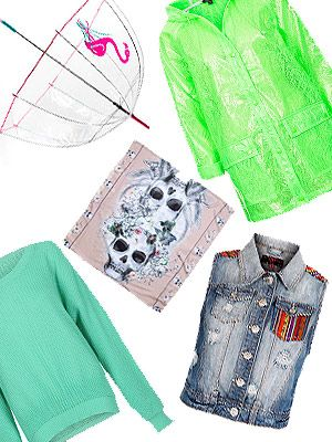 <p>Heading to Glastonbury this weekend? Pack for the muddy fields and wrap up in style with Cosmo's edit of the best festival cover-ups.</p> <p>You'd be forgiven for thinking layering up sounds boring, but a host of neon macs, print scarves and studded biker jackets might just get you wishing for some rain...</p>