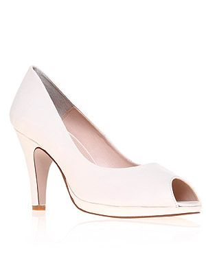 """<p>Minimalist and chic, the white heel is one of the summer's hottest trends, as sported by Sarah Jessica Parker and Mollie King. Stick to monochrome with a black and white stripe dress or make it the neutral foil to bold colour separates.</p> <p>Heels, £75, <a href=""""http://www.kurtgeiger.com/assist-white-leather-41-carvela-kurt-geiger-shoe.html"""" target=""""_blank"""">Kurt Geiger</a></p>"""