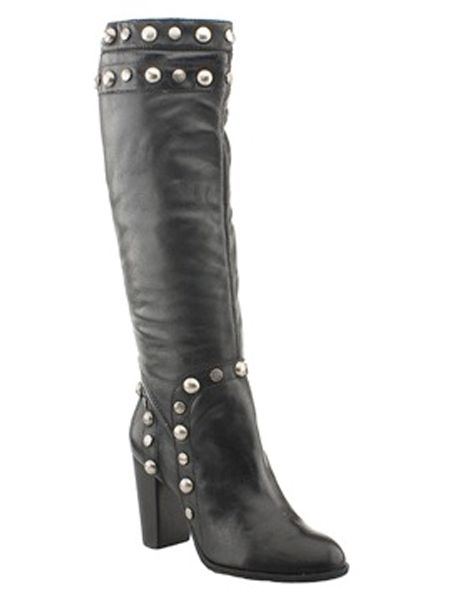 """This piece of studded foot/legwear is fierce and will take you between seasons<br /><br />£119.99, Bronx at <a target=""""_blank"""" href=""""http://www.schuhstore.co.uk/womens_main_frameset.asp"""">www.schuchstore.co.uk</a><br />"""