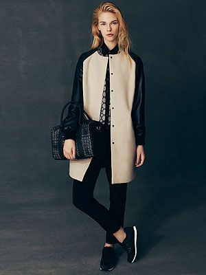 <p>Coat, £28<br />Shirt, £12<br />Trousers, £12<br />Bag, £10<br />Trainers, £12 </p>