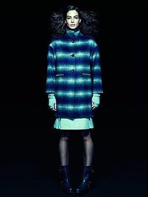 <p>Coat, £45<br />Skirt, £14</p>
