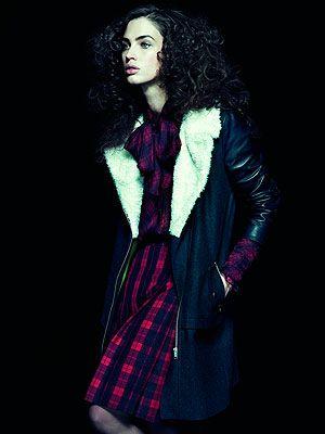 <p>Coat, £45<br />Blouse, £14<br />Skirt, £14</p>