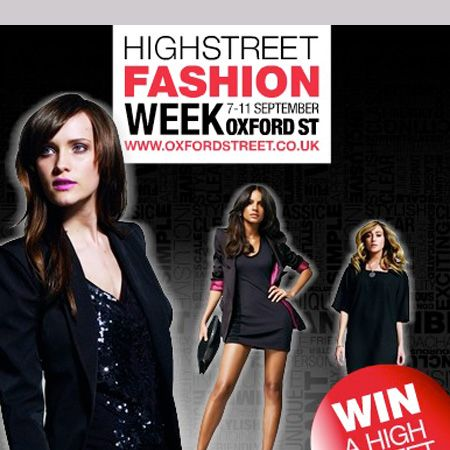 """Still fantasying about bagging an invite to Fashion Week? Join the queue! Do the next best thing for the recessionista's budget - London High Street Fashion Week. This eagerly anticipated event debuts on 7 September where shopping mecca, Oxford Street and it's stores are hosting exclusive events and parties with fashion and beauty workshops, late night shopping, discounts, champagne receptions at countless stores. Ready, set, shop! <br /><br /><a target=""""_blank"""" href=""""http://www.highstreetfashionweek.com/"""">highstreetfashionweek.com  </a><br />"""