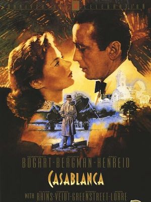 """<p>""""Of all the gin joints, in all the towns, in all the world, she walks into mine...""""</p><p>Ilsa and Rick's story of love and sacrifice easily makes Casablanca one of the most romantic films ever made. And that's why 1 per cent of viewers are scientifically proven to be inspired by the on-screen chemistry between Humphrey Bogart and Ingrid Bergman - perfect excuse to watch it this Valentine's Day!<br /><br /></p><p>Order your copy at <a title=""""Love Film"""" href=""""http://www.lovefilm.com/film/Casablanca/2042/"""" target=""""_blank"""">LOVEFILM</a> now!</p>"""