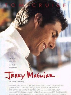 """<p>""""You had me at hello...""""</p><p>Everybody loves watching Jerry make that big ol' emotional declaration to Dorothy, don't they? According to a not-so-scientific poll, 2 per cent of us  still swoon in the presence of Tom Cruise's charismatic Maguire smile - there's nothing quite like a tough guy who finds himself falling head over heels in love, after all.</p><p><br />Order your copy at <a title=""""Love Film"""" href=""""http://www.lovefilm.com/film/?token=%3Fu%3D%252Fcatalog%252Ftitle%252F8924%26m%3DGET"""" target=""""_blank"""">LOVEFILM</a> now!</p>"""